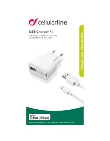 Сетевое зарядное устройство для Apple Cellular Line